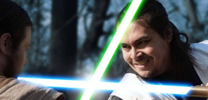 Lightsaber Jedi 2